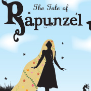 BOOK REDESIGN: Illustrator / Sillouhette / Rapunzel / Child book