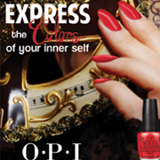 OPI MAGAZINE AD: Photoshop / Fashion / Slogan / Typography