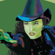 PORTRAIT WICKED: Illustrator / Color Mesh / Wicked